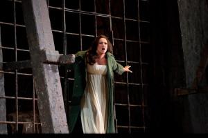 Anna Netrebko als Leonora (foto: Marty Sohl / Metropolitan Opera).