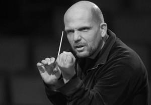 """Van Zweden: """"We moeten niet denken dat we de componist zijn, dat vind ik zo'n overdreven gedoe"""" (foto: Bert Hulselmans)."""