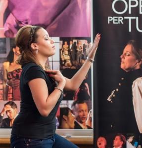 Scène uit een eerder concert van Opera per Tutti (foto: Opera per Tutti).