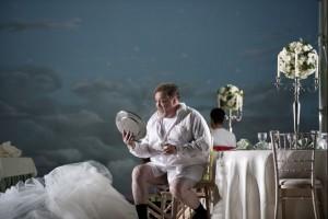 Peter Rose als Baron Ochs auf Lerchenau (foto:  Clärchen&Matthias Baus).