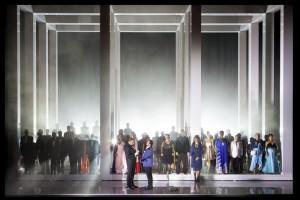 Scène uit Tannhäuser (foto: Opera Vlaanderen).
