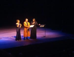 BarokOpera Amsterdam presenteert dit seizoen onder leiding van Frédérique Chauvet (rechts) een bijzondere Don Giovanni (foto: Place de l'Opera).