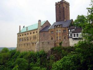 De Wartburg in Eisenach.