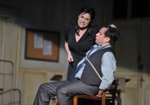 Cecilia Bartoli en John Osborn in Norma (© Hans Jörg Michel).