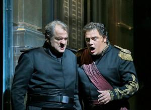 Željko Lučić en Aleksandrs Antonenko (© Ken Howard / Metropolitan Opera).