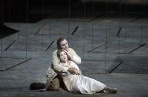 Francesco Meli en Carmen Giannattasio in Il trovatore (© Ruth Walz).