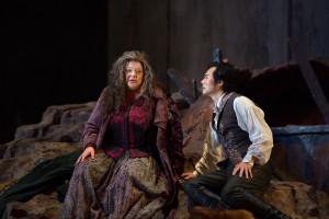 Dolora Zajick en Yonghoon Lee (© Marty Sohl / Metropolitan Opera).