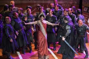 Scène uit Armida bij Opera Vlaanderen (© Annemie Augustijns).