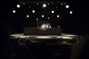 Ted Huffmans productie van Les Mamelles de Tirésias was eerder te zien bij onder meer het Festival d'Aix-en-Provence (© Vincent Beaume).