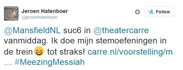 Cité 8 december tweet