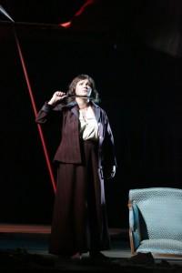 Anna Netrebko als Giovanna d'Arco (© Brescia Amisano / Teatro alla Scala).