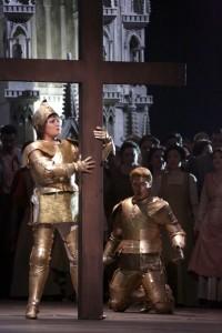 Anna Netrebko in Giovanna d'Arco (© Teatro alla Scala).