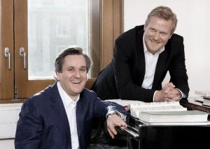 """Kasper Holten (rechts) met Antonio Pappano, die het vertrek van zijn collega als """"een groot verlies"""" omschreef (© Johan Persson)."""