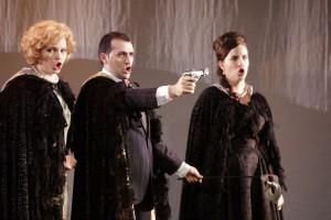 Scène uit Don Giovanni bij de Dutch National Opera Academy (© Coco Duivenvoorde).