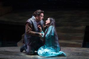 Marco Berti en Nina Stemme in Turandot. (© Marty Sohl / Metropolitan Opera)