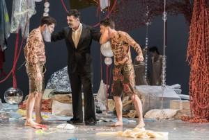 Scène uit Così fan tutte. (Marco Borggreve © Nederlandse Reisopera)