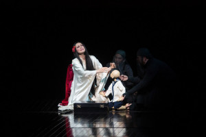 Opolais als Madama Butterfly bij de Metropolitan Opera. (© Marty Sohl / Metropolitan Opera)