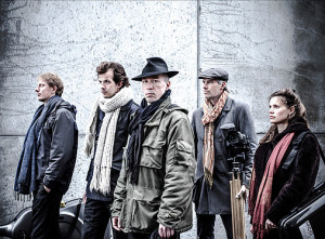 Het Leiermann Ensemble. (© Nancy Andeweg)