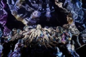 Scène uit Parsifal bij De Nationale Opera. (© Monika Rittershaus / Ruth Walz)