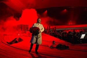 Scène uit Die Walküre bij De Nationale Opera. (© Marco Borggreve)