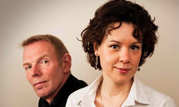Thom Janssen en Lenneke Ruiten. (© Emiel Janssen)