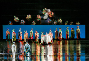 Scène uit Madama Butterfly. (© Ken Howard / Metropolitan Opera)