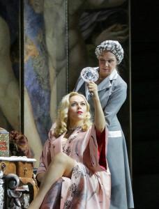 Kristine Opolais in Manon Lescaut. (© Ken Howard / Metropolitan Opera)