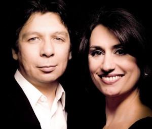 Maurice Lammerts van Bueren en Ekaterina Levental. (© Maurice Lammerts van Bueren)