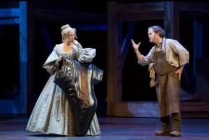 Scène uit Die Meistersinger von Nürnberg. (© Christian Leiber / Opéra national de Paris)