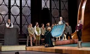 Scène uit Die Meistersinger von Nürnberg. (© Vincente Pontet / Opéra national de Paris)
