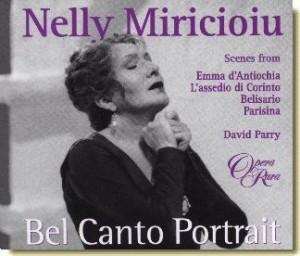 Eén van de fraaiste opnames van Nelly Miricioiu: Bel Canto Portrait.