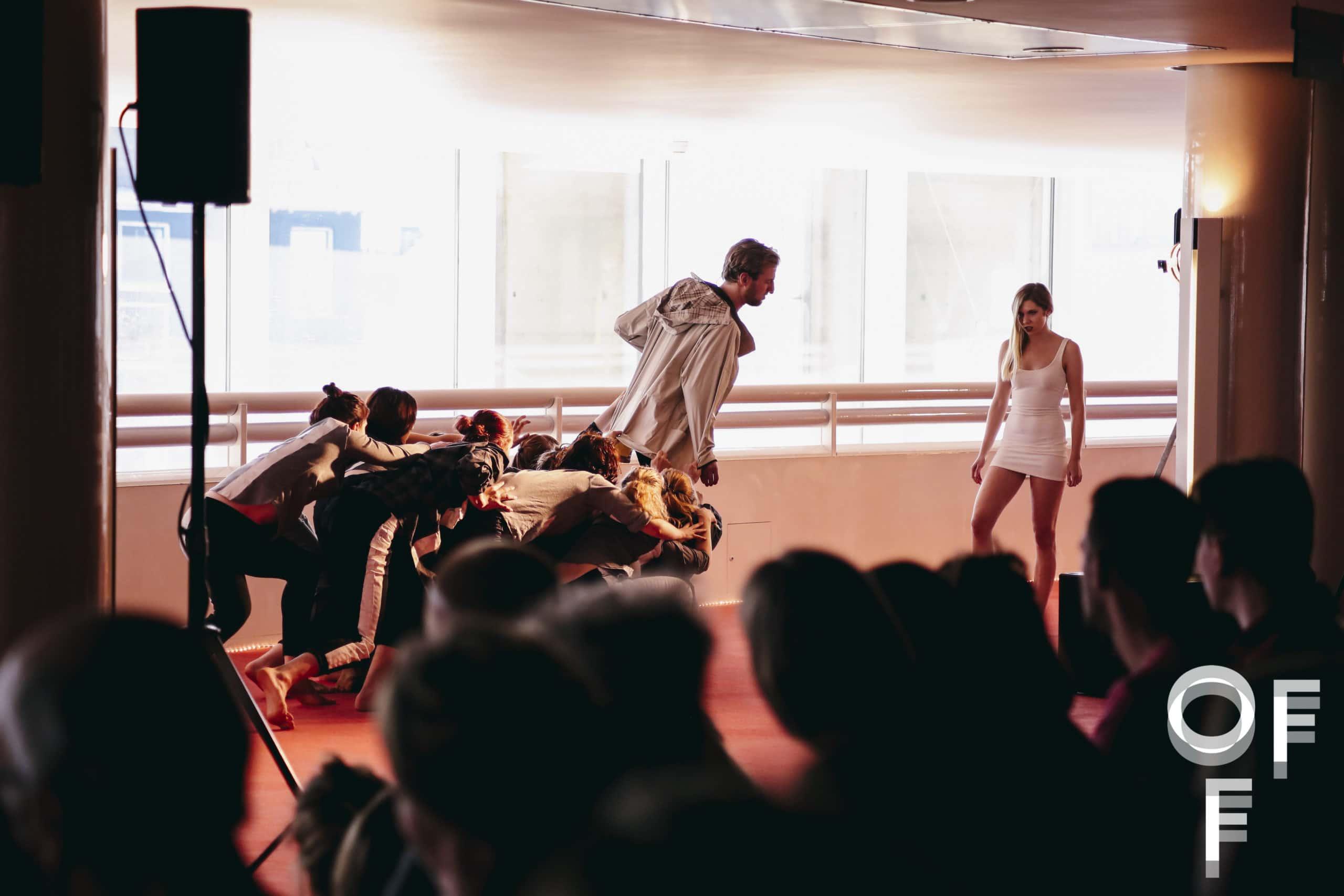 De opera 'over' werd op 17 maart uitgevoerd bij het Opera Forward Festival. (© Desiré van den Berg)