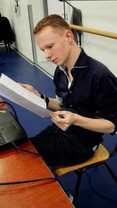 Rick van Veldhuizen, componist.