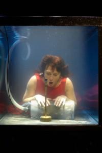 Het Deense gezelschap Between Music brengt de onderwatervoorstelling Aquasonic. (© Jens Peter Engedal)