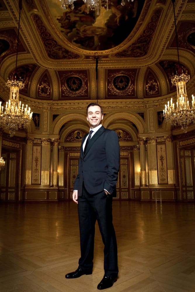 """Benjamin Bernheim: """"Het podium was mijn beste leermeester."""" (© Aymeric Giraudel)"""