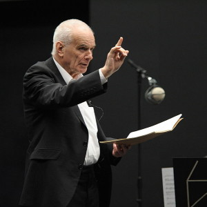 Peter Maxwell Davies in 2012. (© University of Salford Press Office / Creative Commons-licentie)