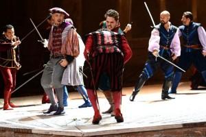 Scène uit Roméo et Juliette. (© Israeli Opera)
