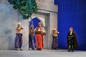 Scène uit Die Entführung aus dem Serail. (© Ken Howard / Metropolitan Opera)