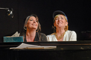 Kate Aldrich en Frederica von Stade in Great Scott. (© Karen Almond)
