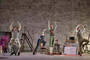 De dansende bohemiens (© Morten de Boer).