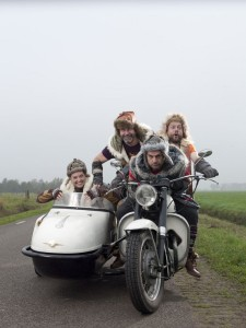 Promobeeld van 4 Musketiers. (© Holland Opera)