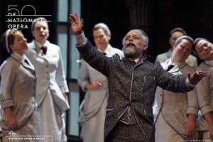 Kuyvenhoven als de oude Tsjaikovski in Pique Dame. (© Karl en Monika Forster)