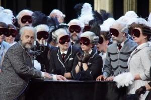 Scène uit Pique Dame bij De Nationale Opera. (© De Nationale Opera)