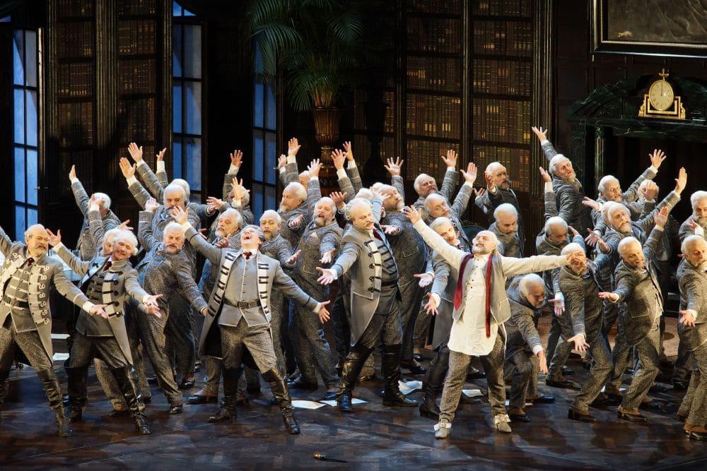 Scène uit Pique Dame. (© De Nationale Opera)