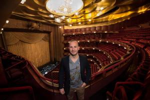 Yannick Nézet-Séguin in de Met. (© Jonathan Tichler / Metropolitan Opera)