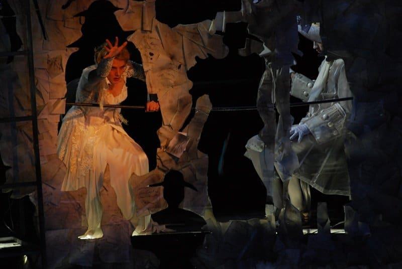 Natalia Zagorinskaya als Emilia Marty in De zaak Makropulos. (© operafestival Bartók Plus)
