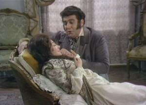 Still uit de vertolking van Plácido Domingo en Teresa Stratas in de film van Franco Zeffirelli.