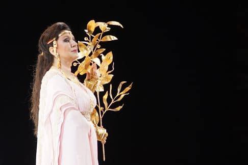Krassimira Stoyanova in Die Liebe der Danae. (© Salzburger Festspiele / Forster)