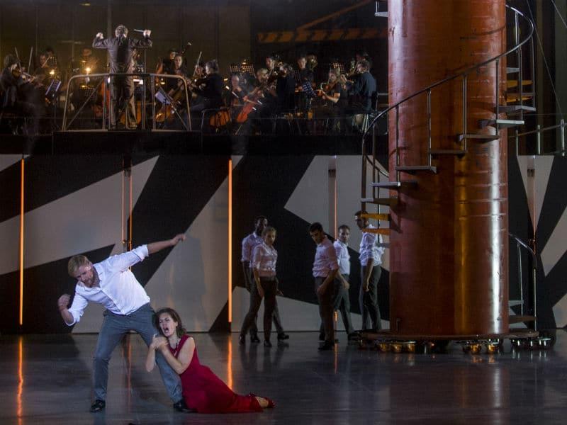 Scène uit Don Giovanni bij Holland Opera. (© Holland Opera)