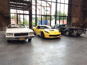 De drie auto's uit Don Giovanni. (© Holland Opera)